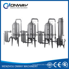 Sjn Higher Efficient Factory Price Stainless Steel Milk Evaporator Dairy Milk Water Distillation Equipment